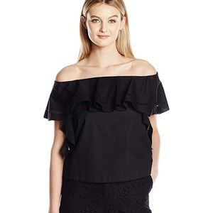 NWT Rachael Zoe Black Top